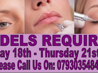 Semi Permanent Make Up Models Needed in Droitwich!!