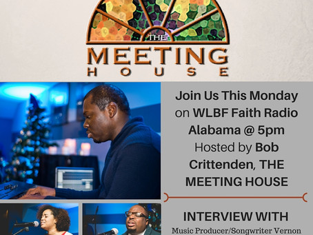 Interview with Host Bob Crittenden, THE MEETING HOUSE about Worship-EP Unshaken