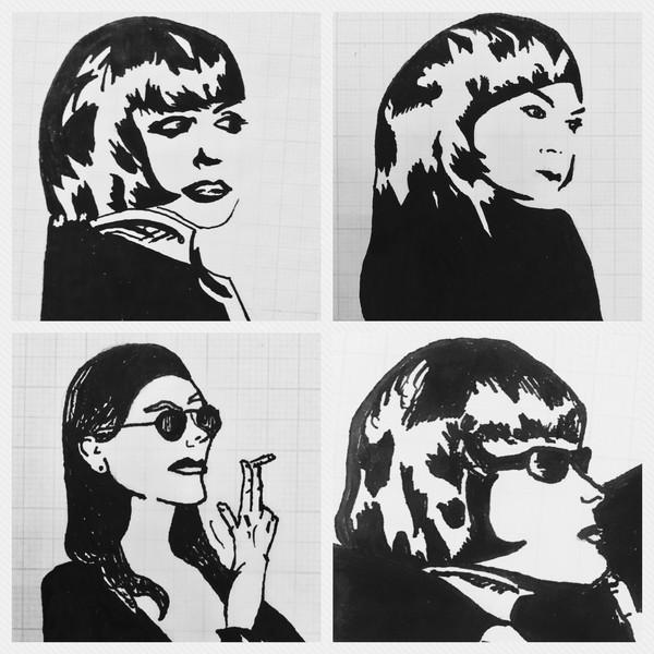 Nina, Lula, Patsy & Lily