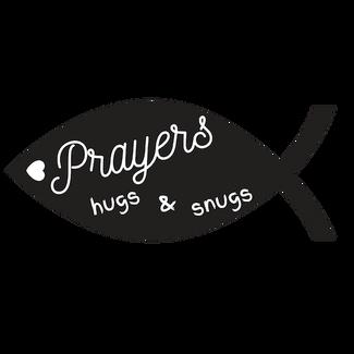 Prayers Hugs & Snugs Logo