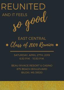East Central Reunion Invite