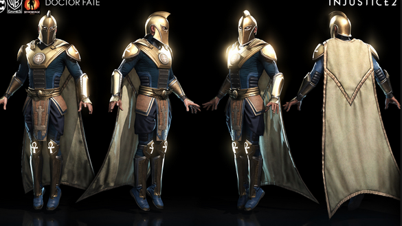 Dr. Fate, a cape