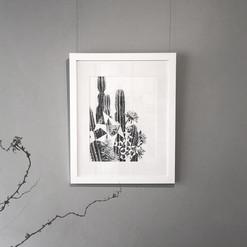 Cactus Pentigree