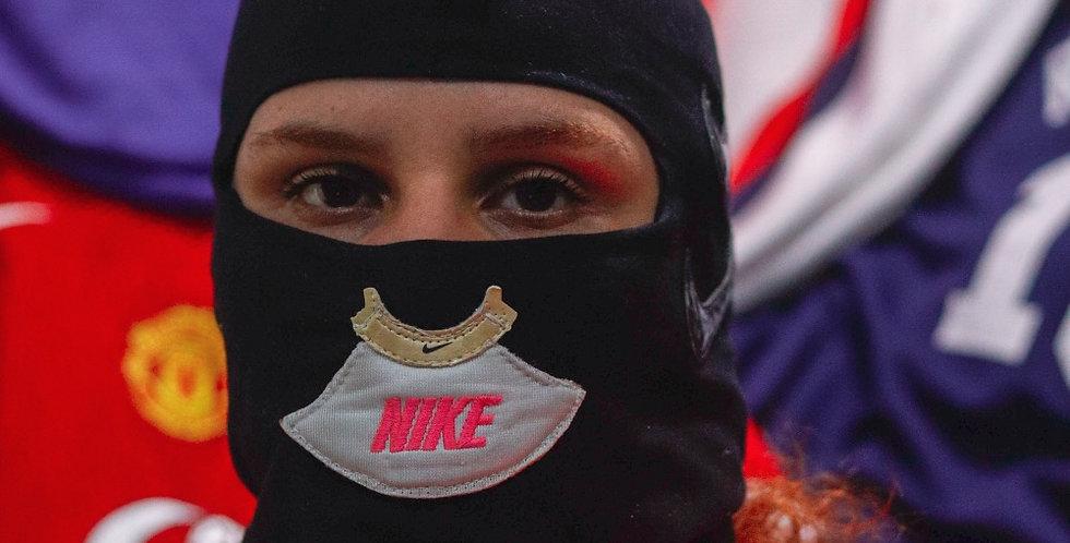Balaclava Nike Rosa Neon