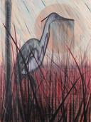 "'Stil' oils aerosol, and acrylic on canvas, 36""x48"", 2020. (Sold)"