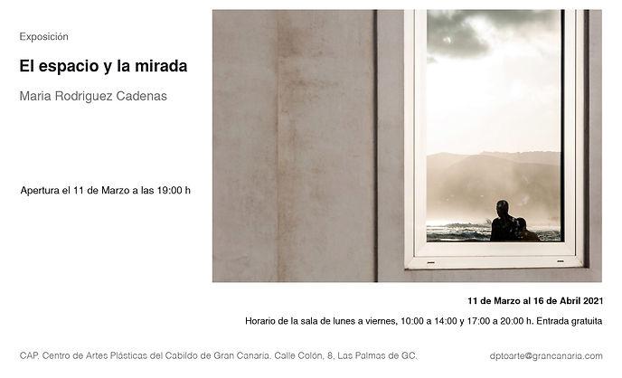 Exhibition in CAP, Cabildo de Gran Canar