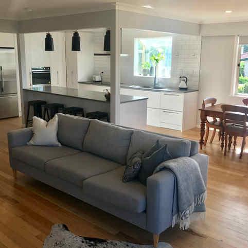 Complete kitchen renovation by Tim Scrimshaw at Coast Build, Gisborne, NZ