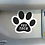 Thumbnail: Vet tech paw car magnet