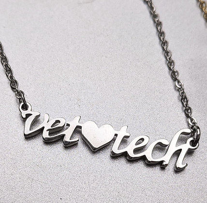 Vet tech necklace