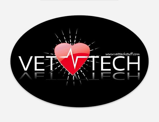 Vet tech EKG magnet