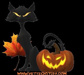 Vet tech Halloween 2020 sticker
