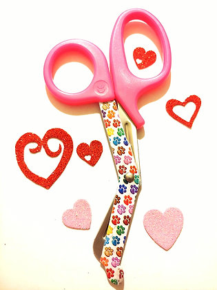 Pink ⚕️ paramedic scissors