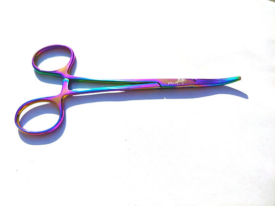 Rainbow 🌈curved  hemostats