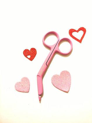 "Pink  💗3.5 "" bandage scissors"
