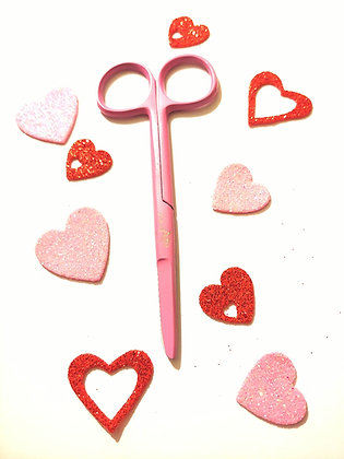 Pink Valentine's 💘suture scissors