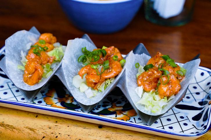 Shrimp Tacos Bucerias