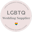 LGBT wedding supplier
