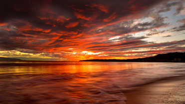 Fire Sunset Bucerías