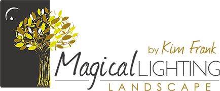 Logo Kim Frank Magical Lighting Landscap