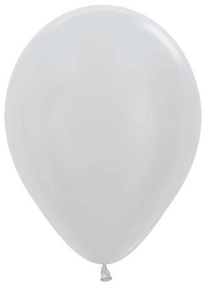 Серебро Металлик 30см
