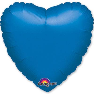 """Сердце 18"""" Синий"""