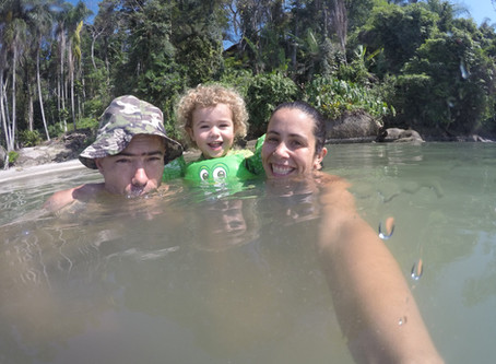 Stand Up Paddle com a família