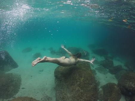 Lagoa Azul é a Ilha dos Cocos