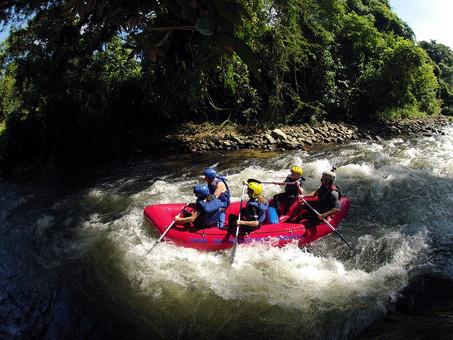 Rafting no Rio Mambucaba 20 de Abril