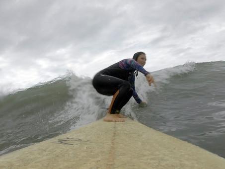 Surf Trip com Michaela da República Checa