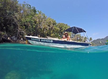 Barco Nosso Sonho no feriado de Setembro