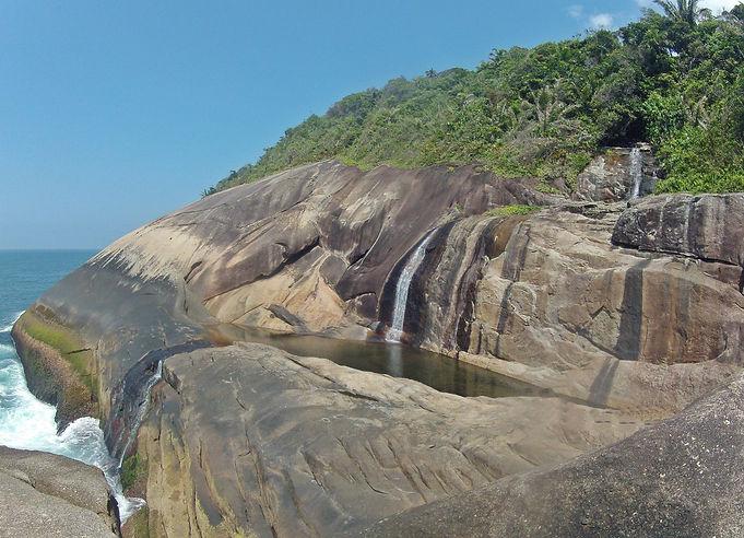 cachoeira do saco bravo paraty brasil ri