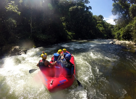 Rafting no Rio Mambucaba