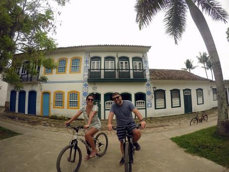 Bike Tour com Pedro e Ana Luiza