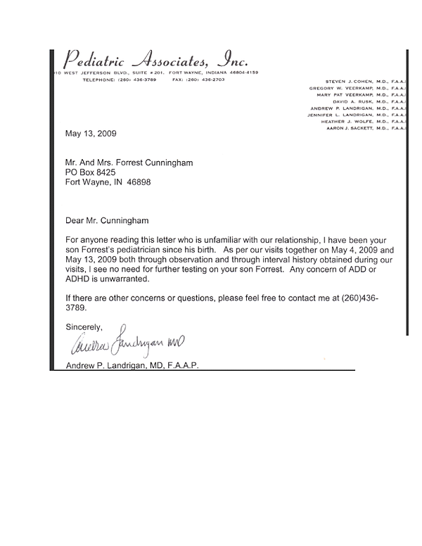 Pediatrician Letter May 13 2009.png