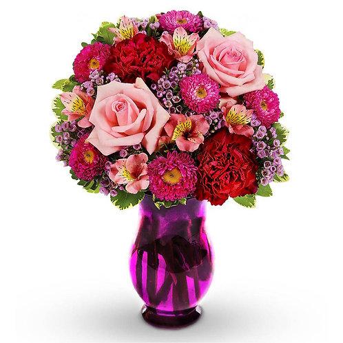 Valentine's Day Vase Arrangements