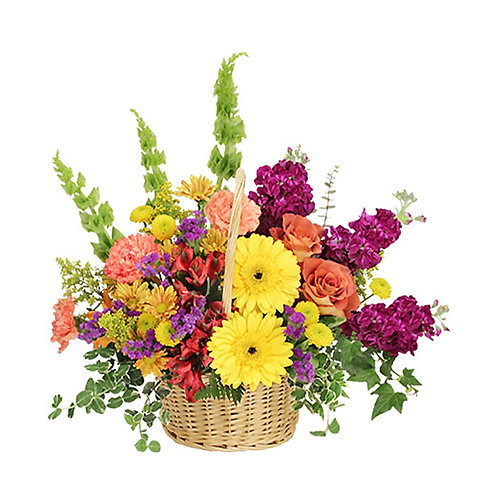 Valentine's Day Basket Arrangements