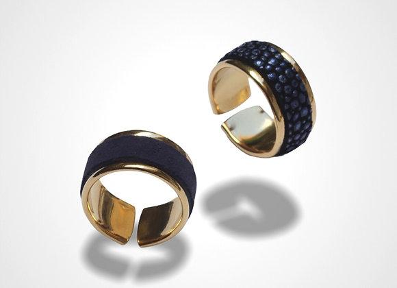 Bague anneau large Calypso