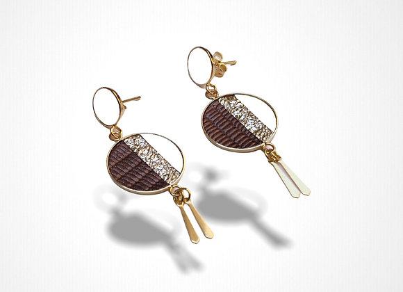 Boucles pendantes Néfertiti