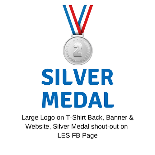Boosterthon Silver Medal Sponsor $500
