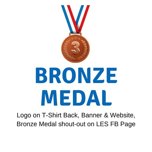 Boosterthon Bronze Medal Sponsor $250