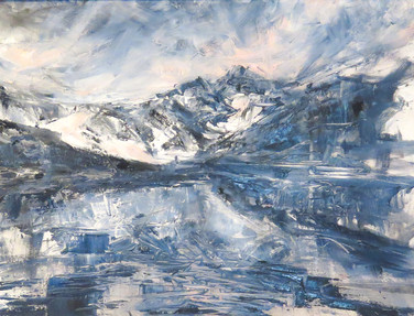 Frozen Lake, Llyn Cau Mymbyr