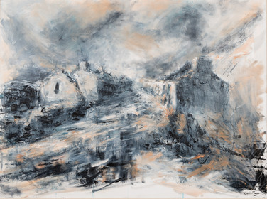 Rain and Mist, Croesor Quarry