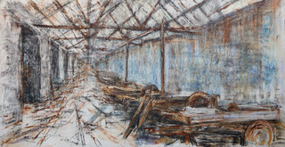 Australia Slate Mill Ruin, Dinorwic