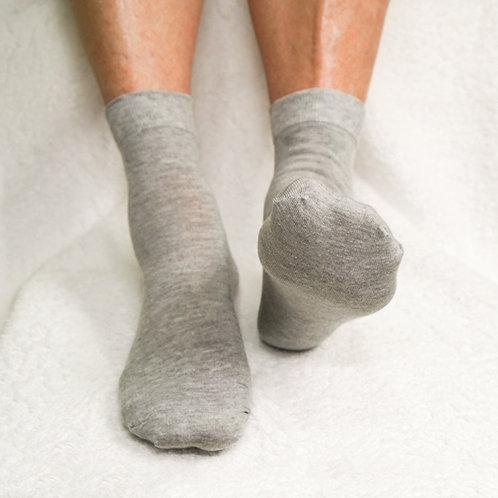 Pedisil Gel Sok met Voorvoet- en Hielbescherming – Grijs