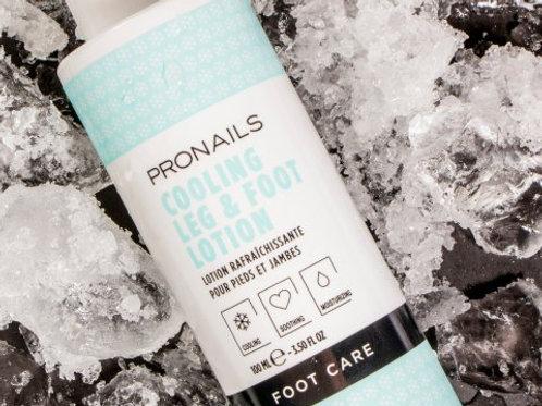 Cooling leg & foot lotion
