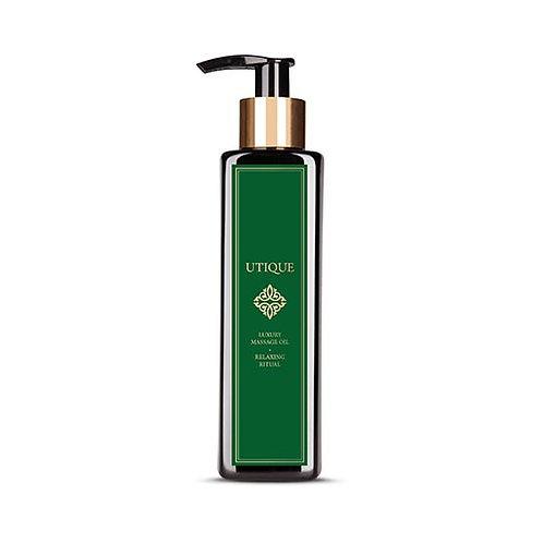 Relaxing ritual luxury massage oil