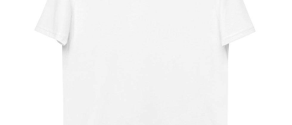 "Unisex White - 100% Organic Cotton - Printed ""Grapefruit"""