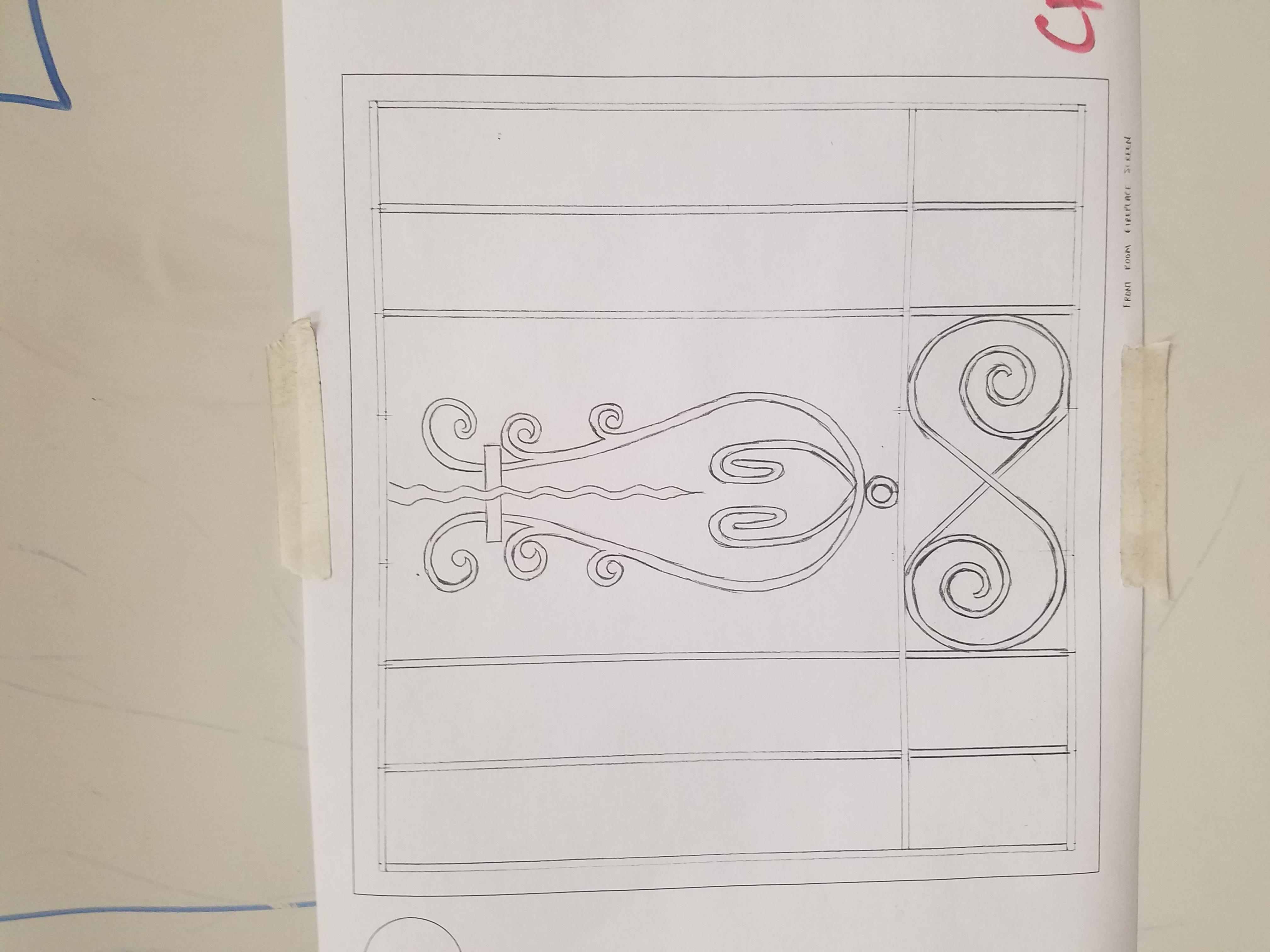 Fire grate design