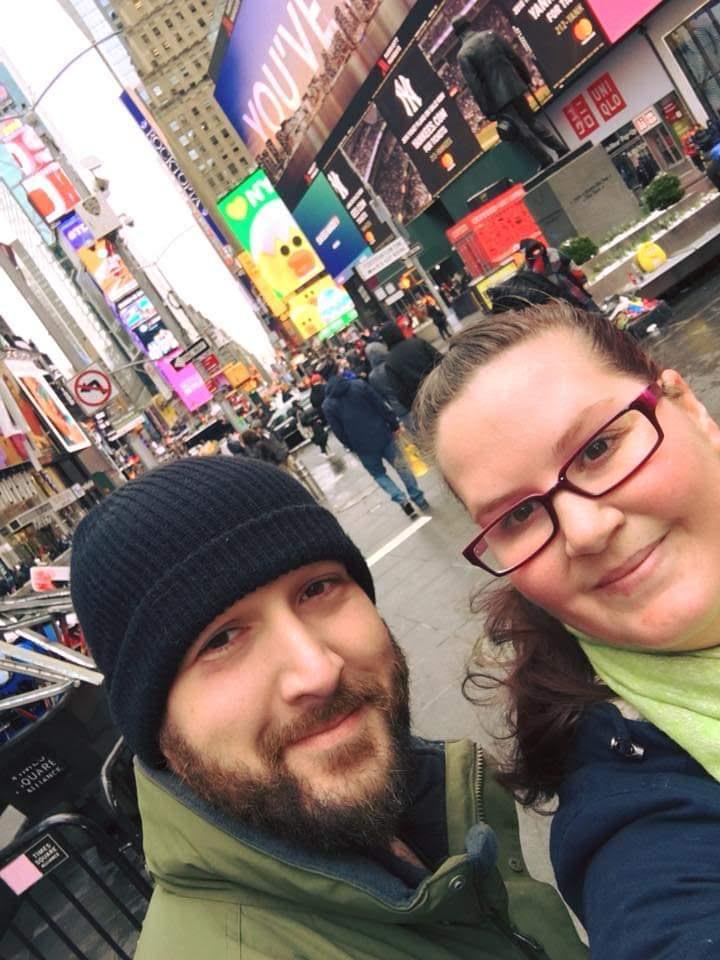 Joe and Elizabeth in NYC