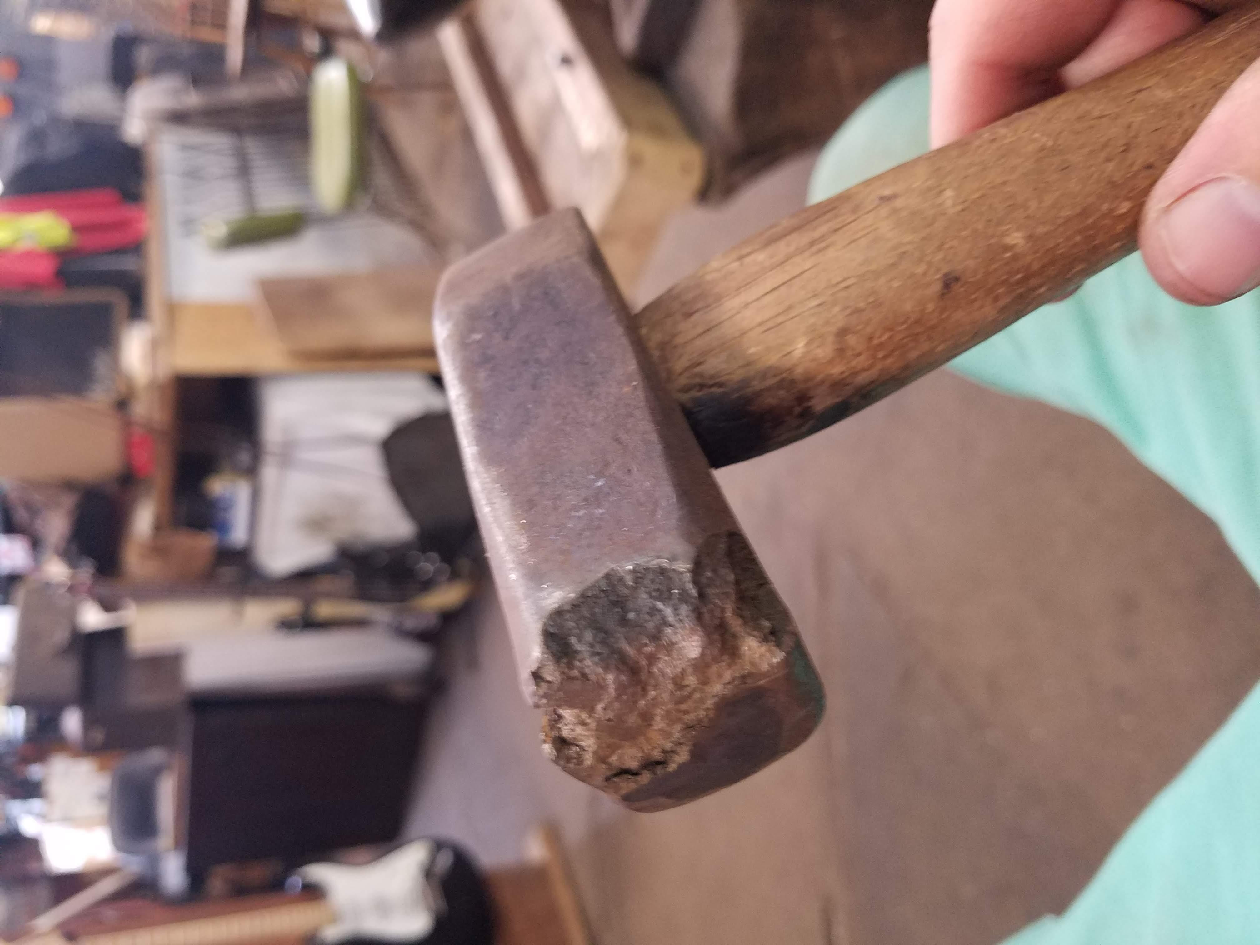 Cracked Hammer